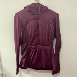 Lululemon Half Zip Jacket with Hood, Purple